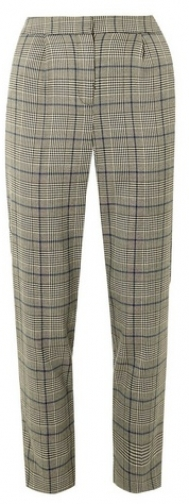 Dorothy Perkins Grey Check Print Tapered Trouser