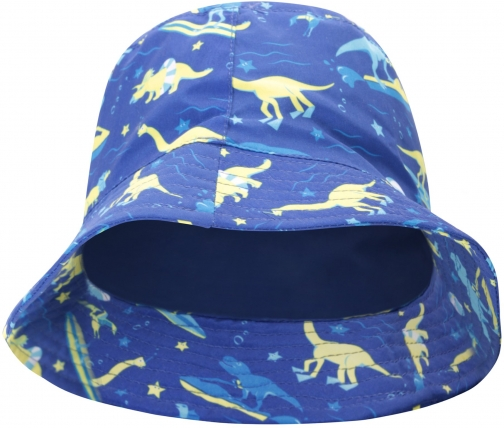 Mountain Warehouse Printed Kids Bucket - Blue Hat