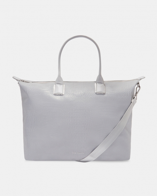 Ted Baker Reflective Large Nylon Bag Tote