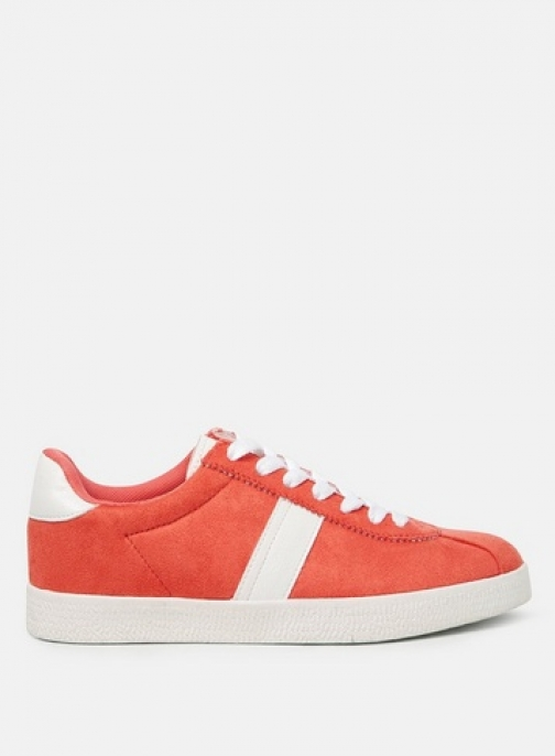Dorothy Perkins Womens Rust 'Izzy' Striped - Red, Red Trainer