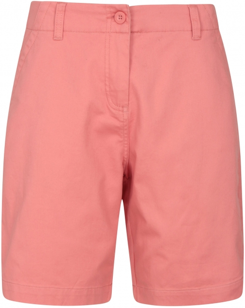Mountain Warehouse Stretch Womens Cotton - Pink Short