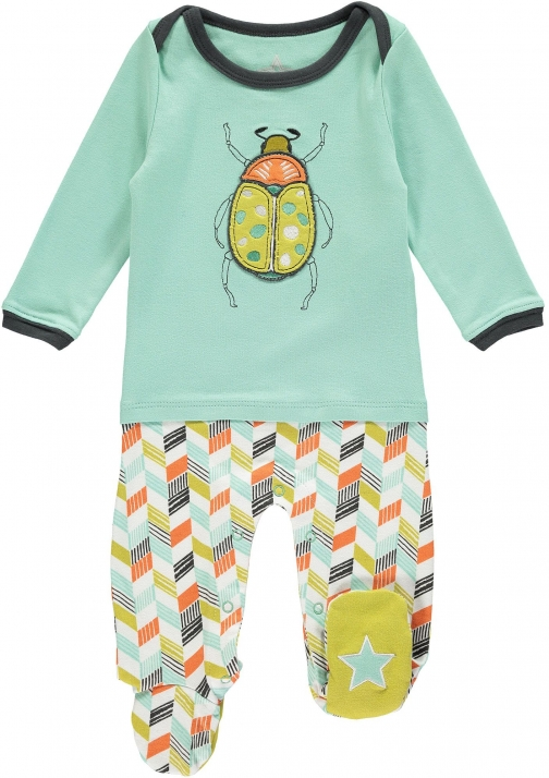 House Of Fraser Rockin' Baby Boys Bug Applique Onesie