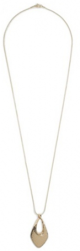 Dorothy Perkins Gold Textured Pendant Necklace