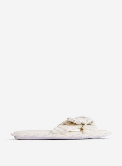 Dorothy Perkins Ivory Bow Mules