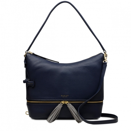 Radley Pickering Large Zip-Top Shoulder Bag