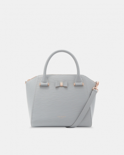 Ted Baker Bow Detail Small Leather Bag Tote