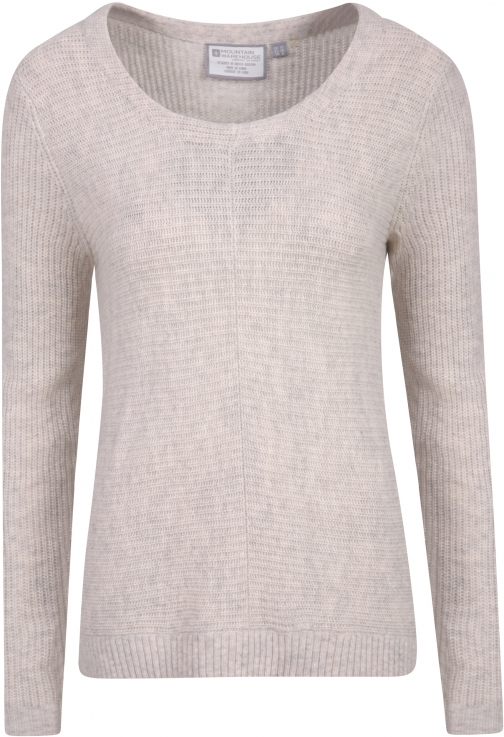 Mountain Warehouse Oslo Womens Knitted - Beige Top