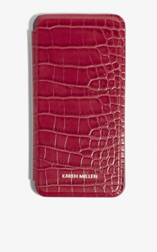 Karen Millen Croc-Effect IPhone 7+ Case