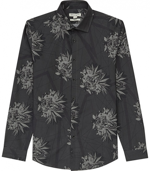 Reiss Nightshade Floral Print Shirt