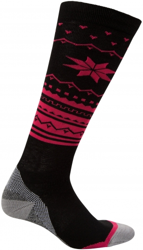 Mountain Warehouse Polar Patterned Womens Technical Ski - Grey Sock