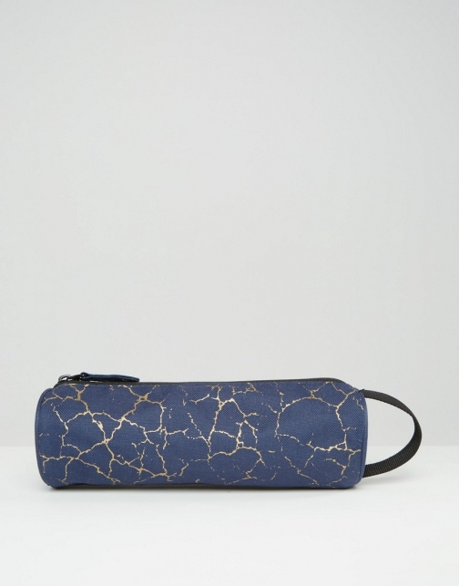 Mi-pac Cracked Pencil Navy Case