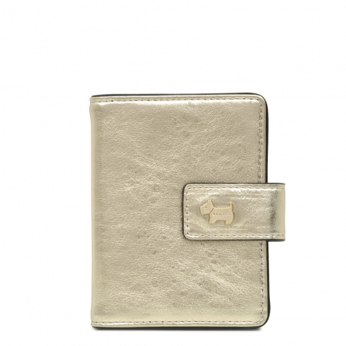 Radley College Green Small Tab Card Holder