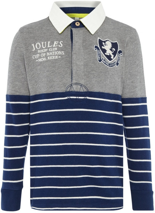 Joules Boys Rugby Long Sleeve Shirt