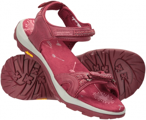 Mountain Warehouse Journey Womens Vibram Walking Sandal - Pink Sandals