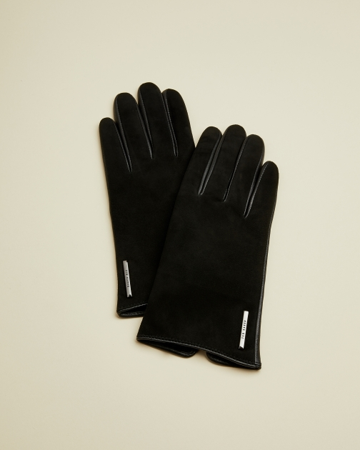 Ted Baker Suede And Leather Glove