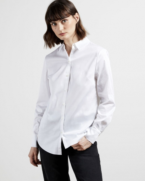 Ted Baker Cotton Oversized Shirt