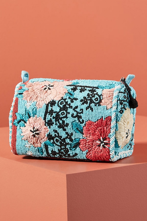 Anthropologie Lindsey Beaded Pouch