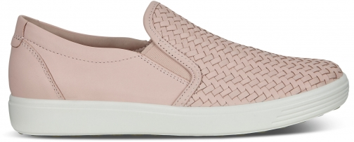 Ecco Soft 7 Womens Slip-on Shoes Sneakers Size 7 Rose Dust Trainer