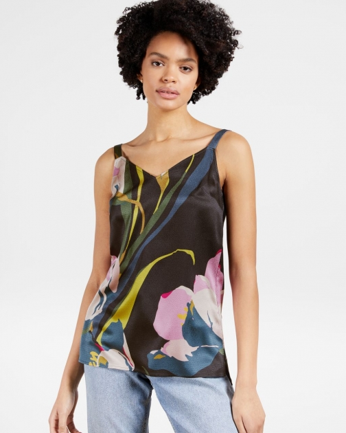 Ted Baker Long-line Printed Cami Top