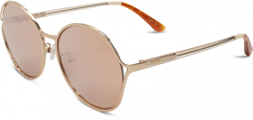 Toms Blythe Rose Gold With Rose Mirror Lens Sunglasses