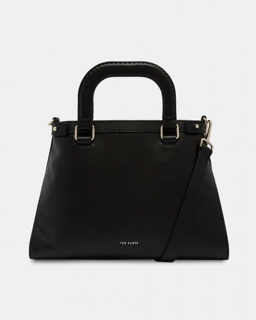 Ted Baker Padded Handle Leather Bag Tote