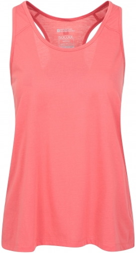 Mountain Warehouse Move & Flow Womens Vest - Pink Top