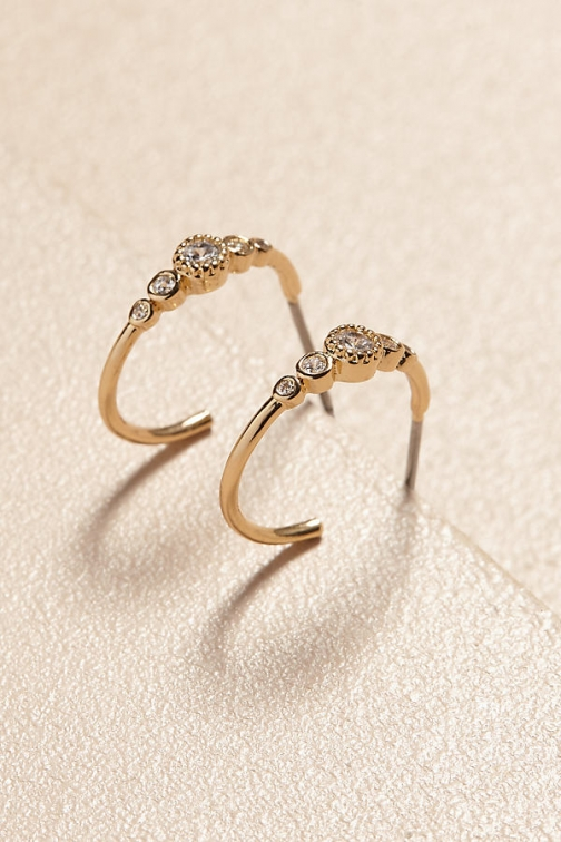Anthropologie Stella Hoop Earring