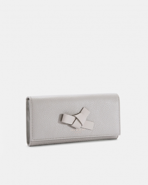 Ted Baker Mini Knot Leather Matinee Purse