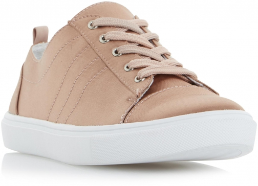 Head Over Heels Eisha Satin Lace Up Trainer