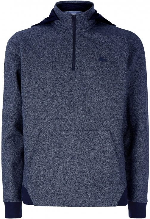 Lacoste Men's Lacoste Lacoste Half Zip High Collar Hoodie