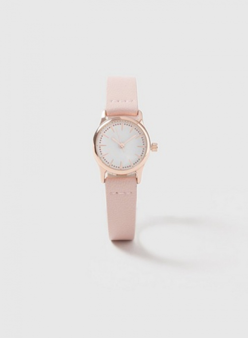 Dorothy Perkins Pink Mini Strap Watch