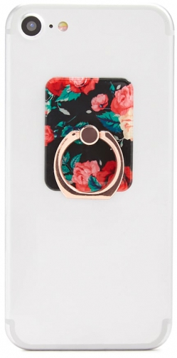 Forever21 Forever 21 Floral Phone , Red/multi Ring
