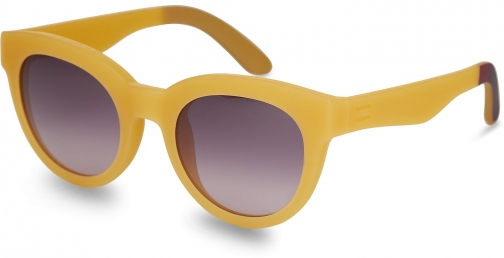Toms Traveler By TOMS Florentin Matte Sunflower Plum Gradient Lens With Violet Brown Gradient Lens Sunglasses