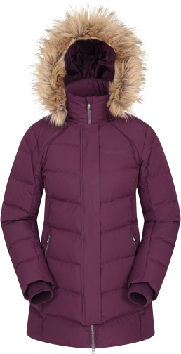 Mountain Warehouse Isla II Womens Down - Purple Jacket