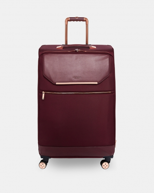 Ted Baker Metallic Trim Large Suitcase