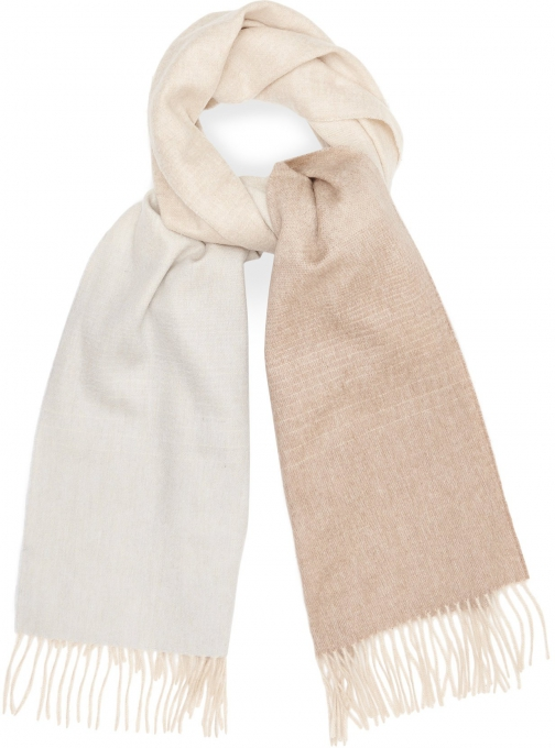 Reiss Sass - Lambswool Cashmere Blend Blush, Womens Scarf