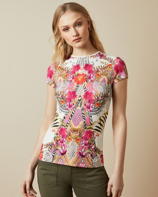 Ted Baker Samba Fitted T-Shirt