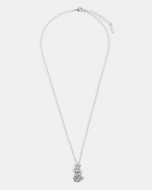 Ted Baker Crystal Cat Pendant