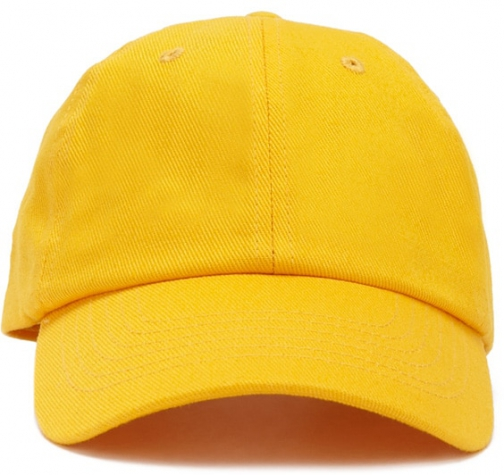 Forever21 Forever 21 Canvas Dad Yellow Cap