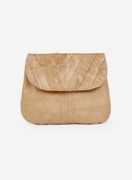 Pieces Natural 'Lilac' Cross Body Bag Crossbody Bag