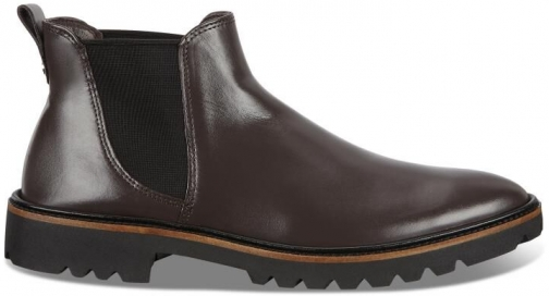 Ecco Incise Tailored Womens Size 6 Shale Ankle Boot