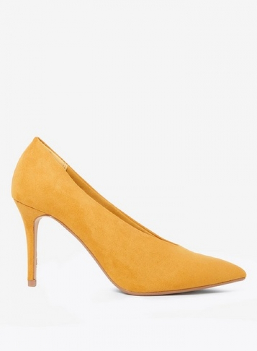 Dorothy Perkins Womens Yellow 'Gatsby' Court - Yellow, Yellow Shoes
