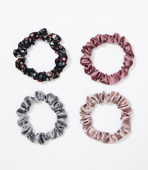 Loft Floral Mini Scrunchie Set Headwear