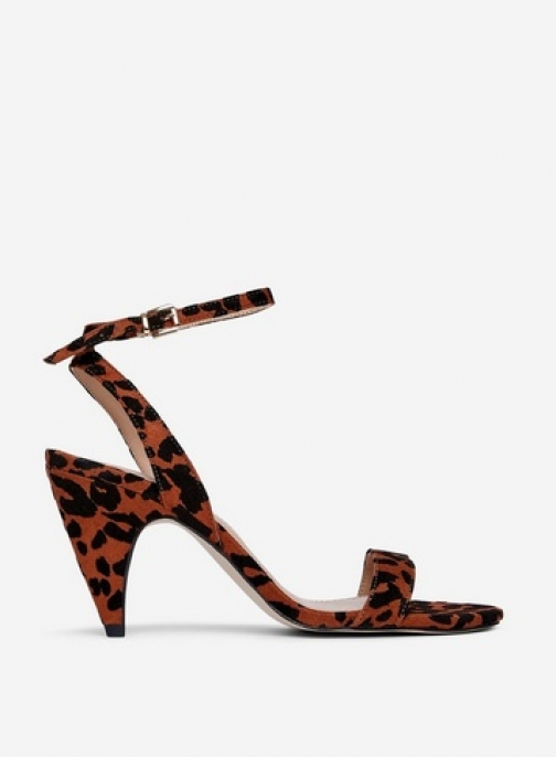 Dorothy Perkins Brown 'Boop' Heeled Sandals