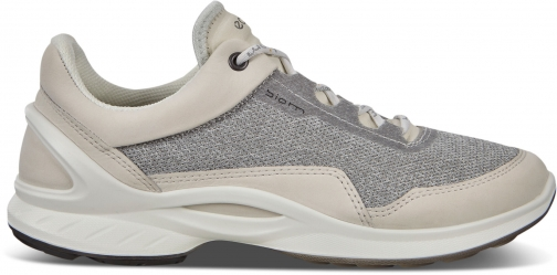 Ecco BIOM Fjuel Womens Outdoor Shoe Sneakers Size 4/4.5 Shadow White Trainer