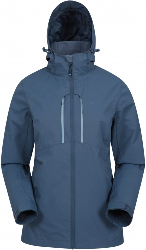 Mountain Warehouse Rainforest Waterproof Womens - Blue Jacket