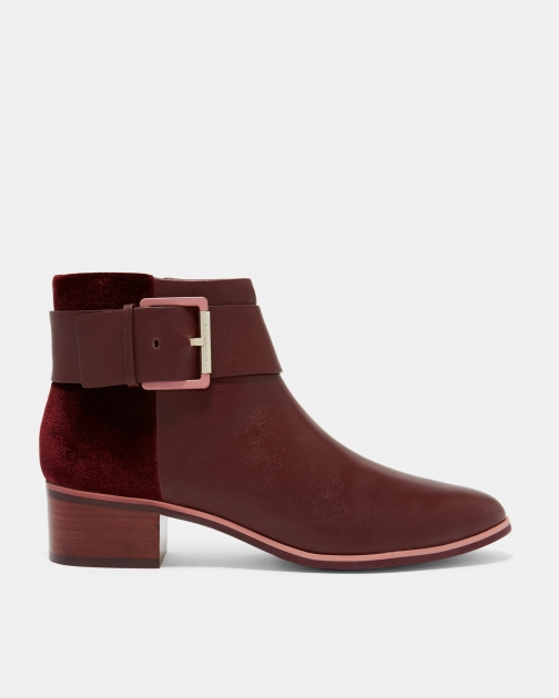 Ted Baker Leather Ankle Boot