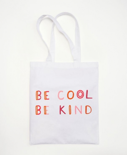 Loft Be Cool Be Kind Bag Tote