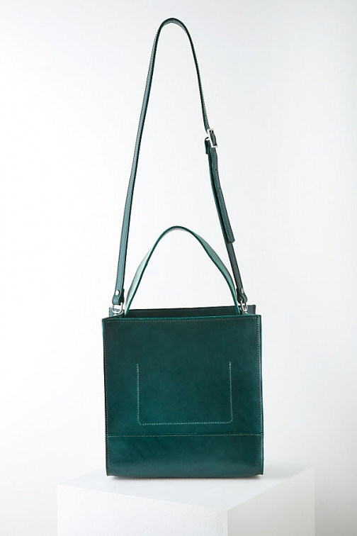 Anthropologie D Foster X Anthropologie Eleanor Croc-Effect Leather Bag Tote