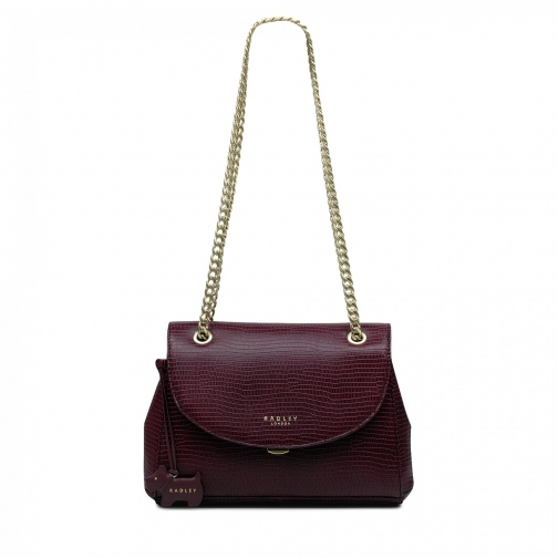 Oasis London Waterloo Medium Flapover Cross Body Bag Crossbody Bag